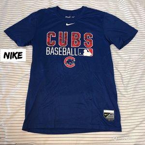 NWOT Nike Chicago Cubs Dri-Fit T-Shirt